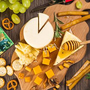 tabla de quesos madurados