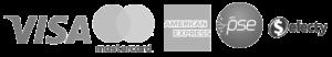 Aceptamos Visa, Mastercard, American Express, PSE, Efecty