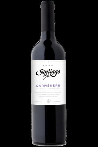 Santiago 1541 Carmenere Reserva.png