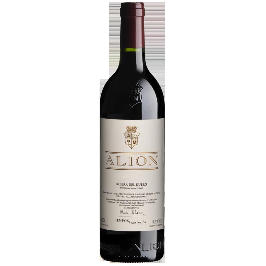 Compra Vino Tinto Vega Sicilia Alion Ribera Del Duero 750 A Domicilio En Colombia Vinos El Kiosco