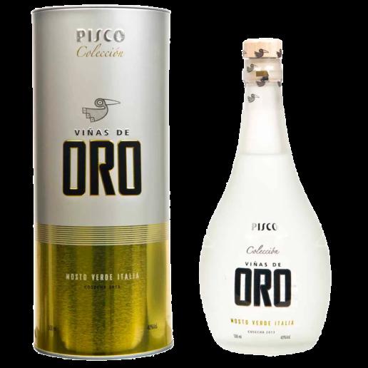 Pisco Mosto Verde Italia Coleccion Vinas De Oro 500 Ml.png