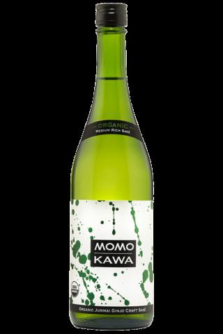 Sake Momokawa Organic Junmai 750 Ml.png
