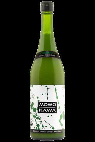 Sake Momokawa Organic Nigori 750 Ml.png