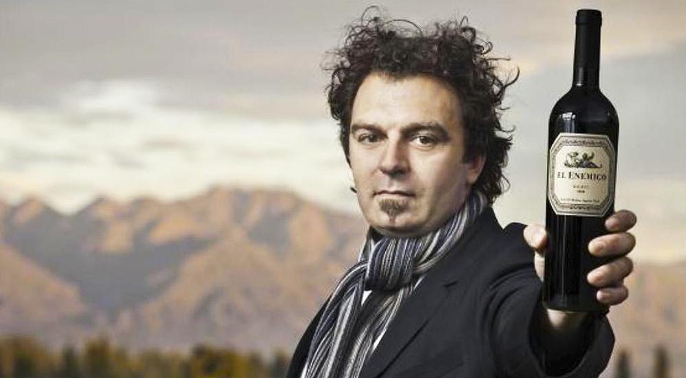 Alejandro Vigil - Enólogo de El Enemigo