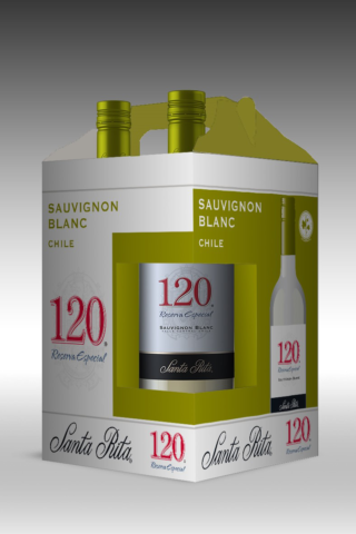 four pack santa rita 120 reserva especial sauvignon blanc blanco187ml.png