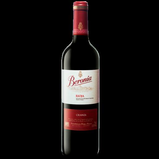 vino espanol beronia crianza tinto 750 ml.png